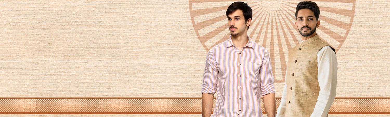 Khadi men wear