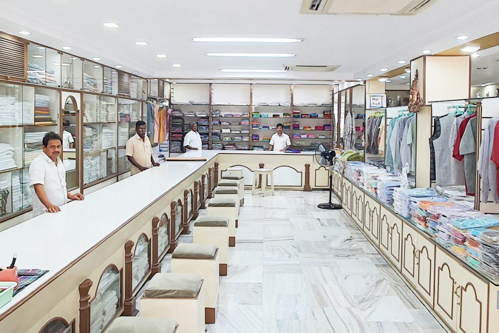 guntur khadi shop inside